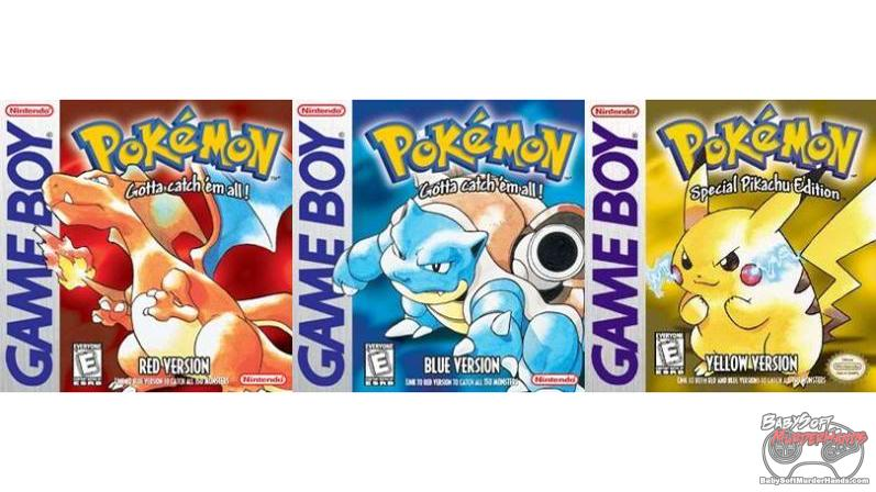 pokemon red blue yellow Cheap 3ds games