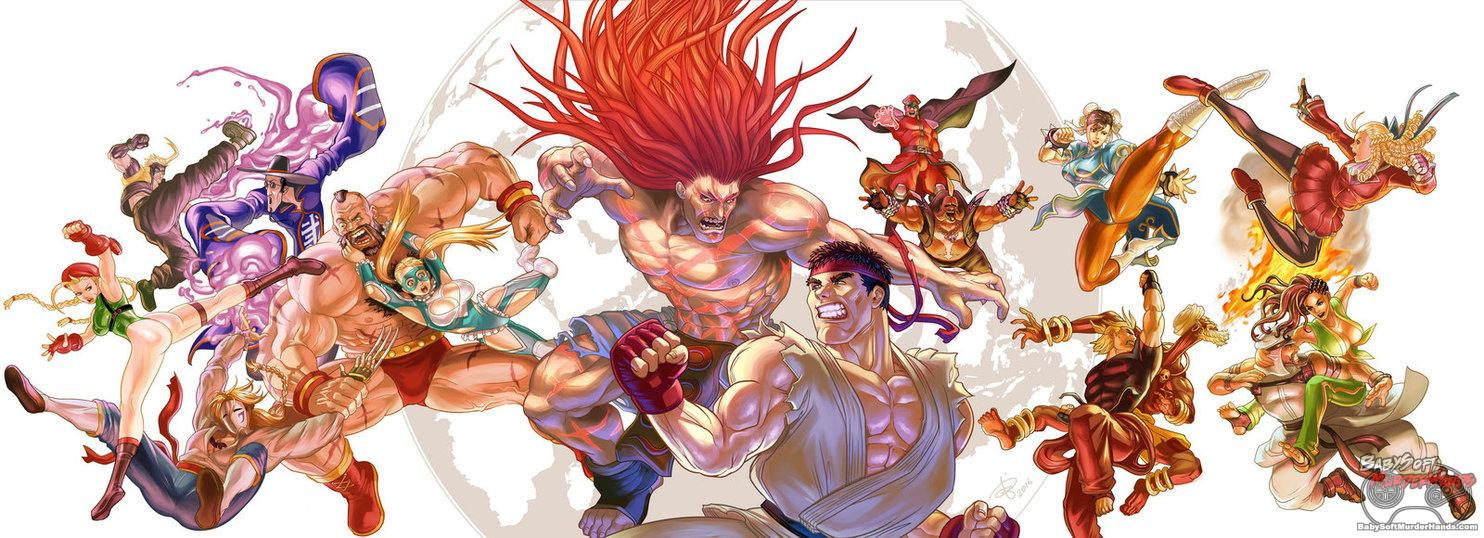 Street Fighter V by BenjaminAng Fan Art