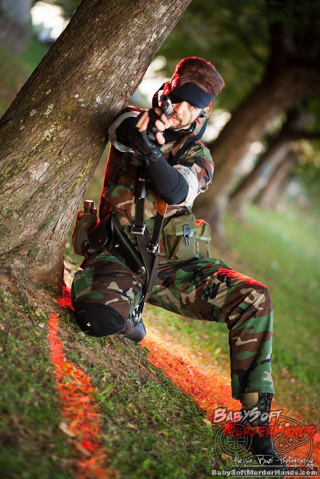 Alessandro Zucchi (Lelouch) Big Boss of METAL GEAR SOLID Cosplay