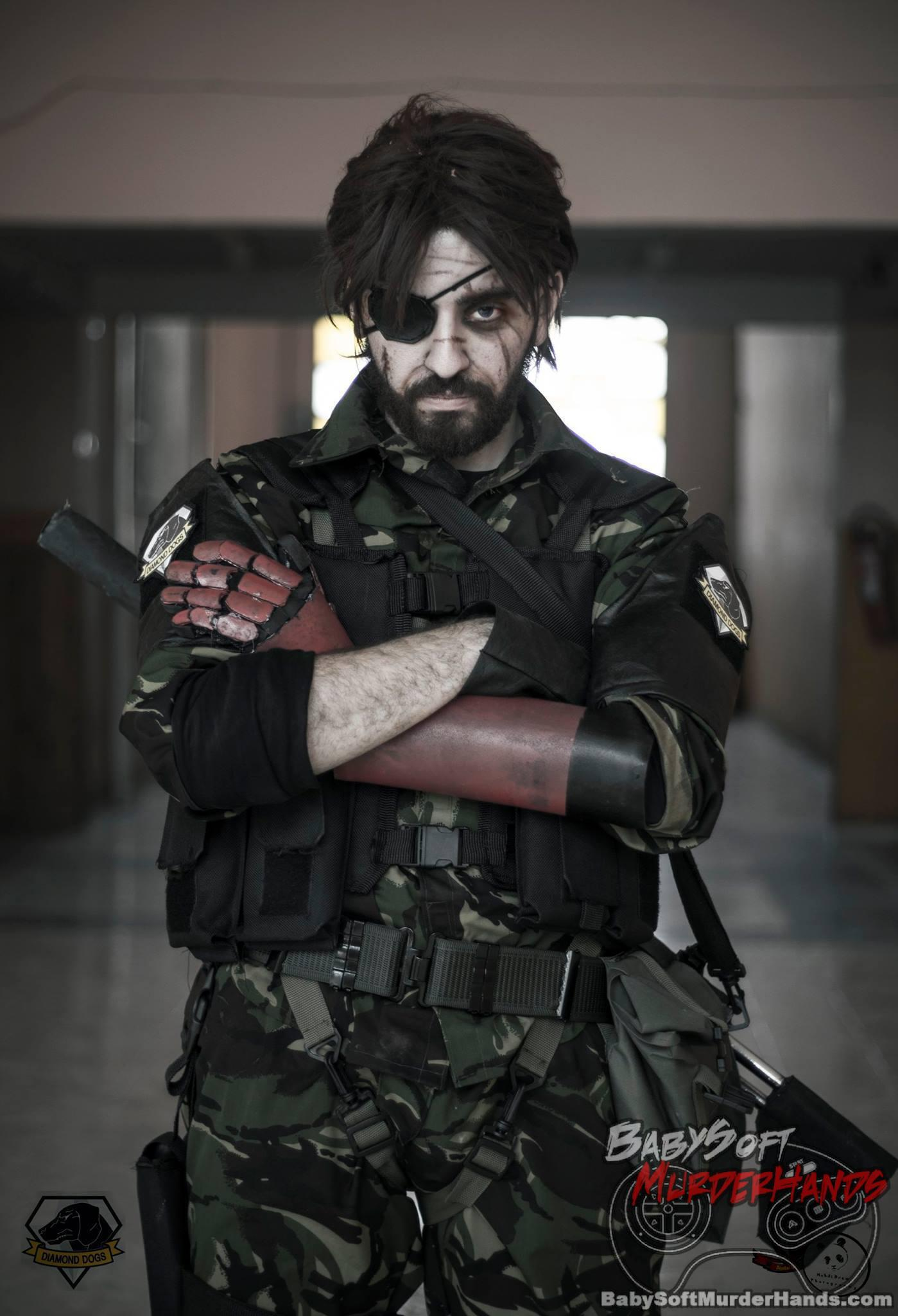 Venom Snake from Metal Gear Solid V : The Phantom Pain cosplay by Adel Benyahia (Beretta )