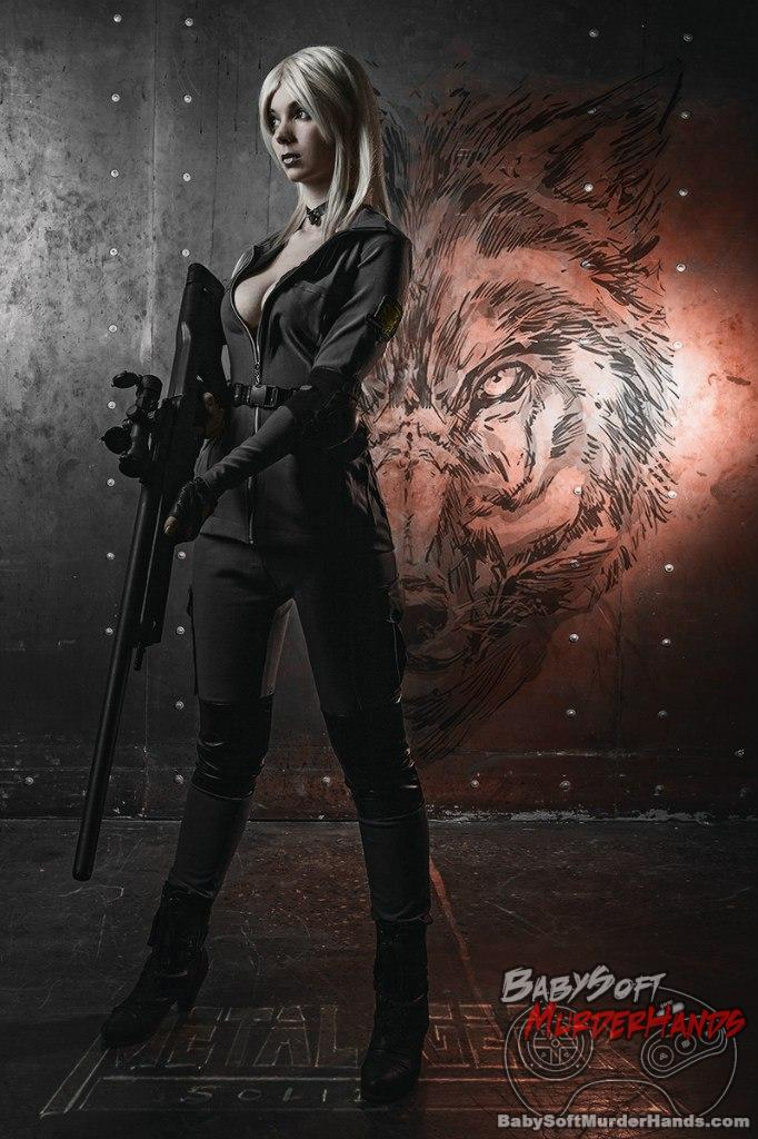 Sniper Wolf from METAL GEAR SOLID cosplay by Elena Grace