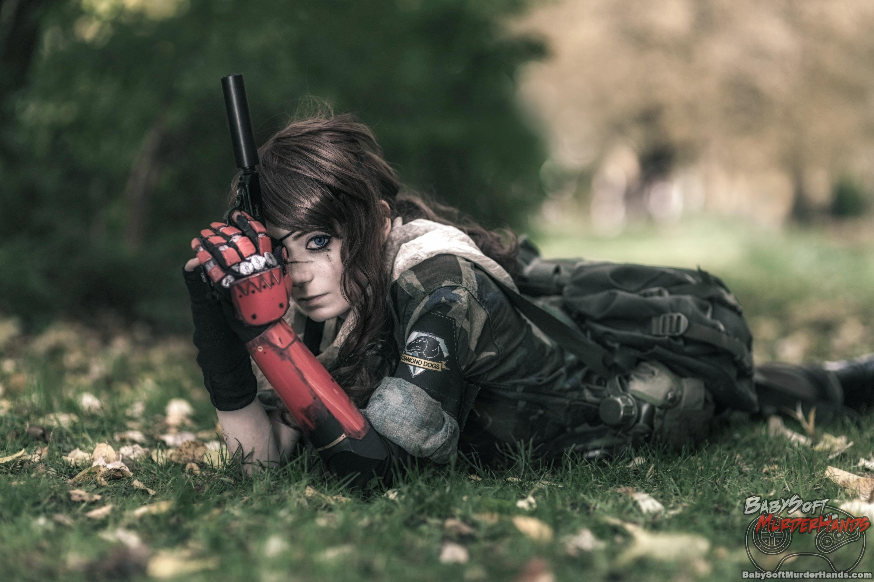 Punished/ Venom Snake from METAL GEAR SOLID cosplay by AnnYAnarchY