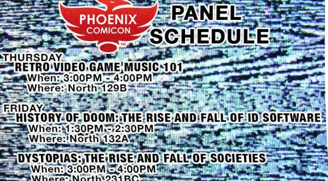PHOENIX COMICON 2016 PANELS