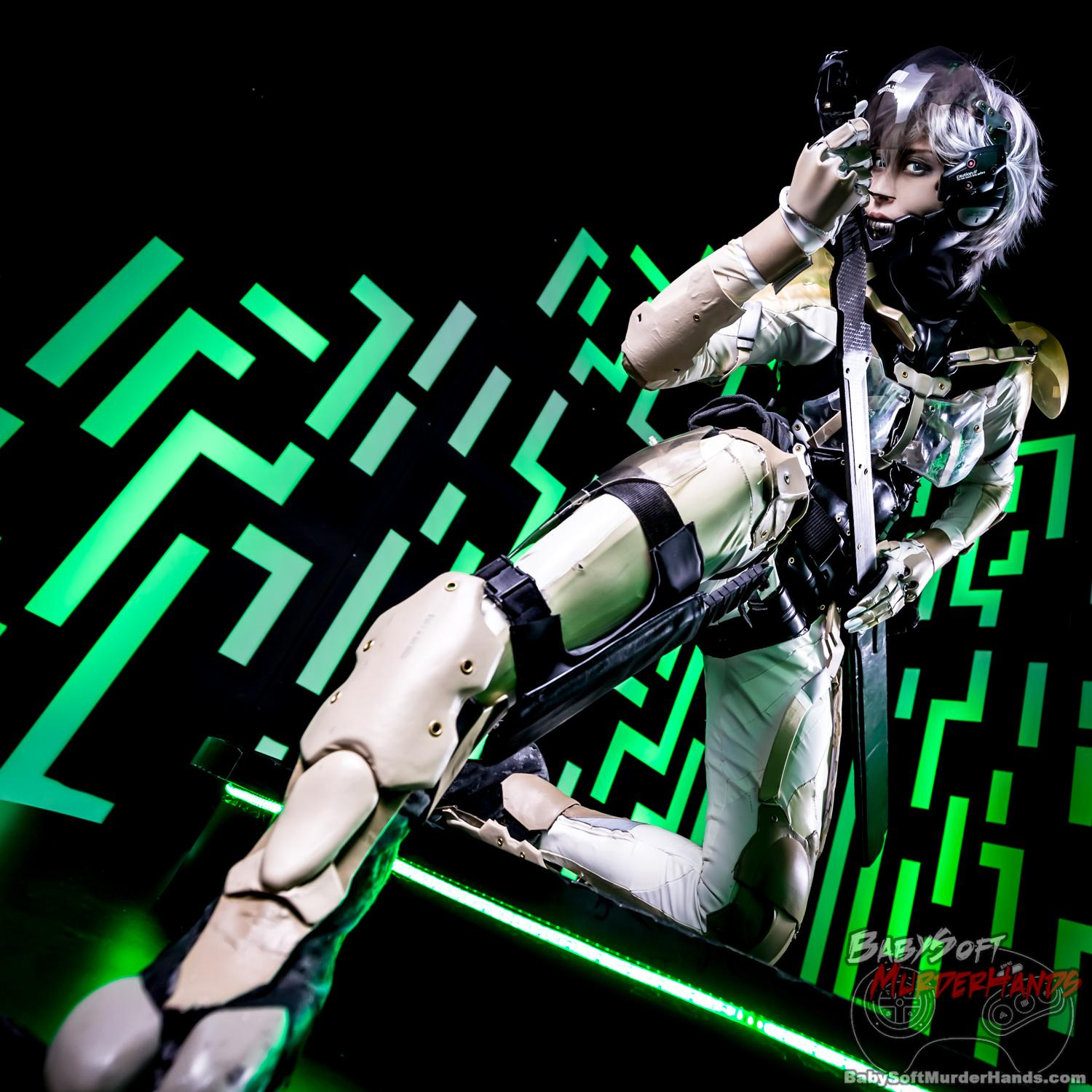 Raiden from METALGEAR SOLID4: Guns of the Patriot cosplay by masazi