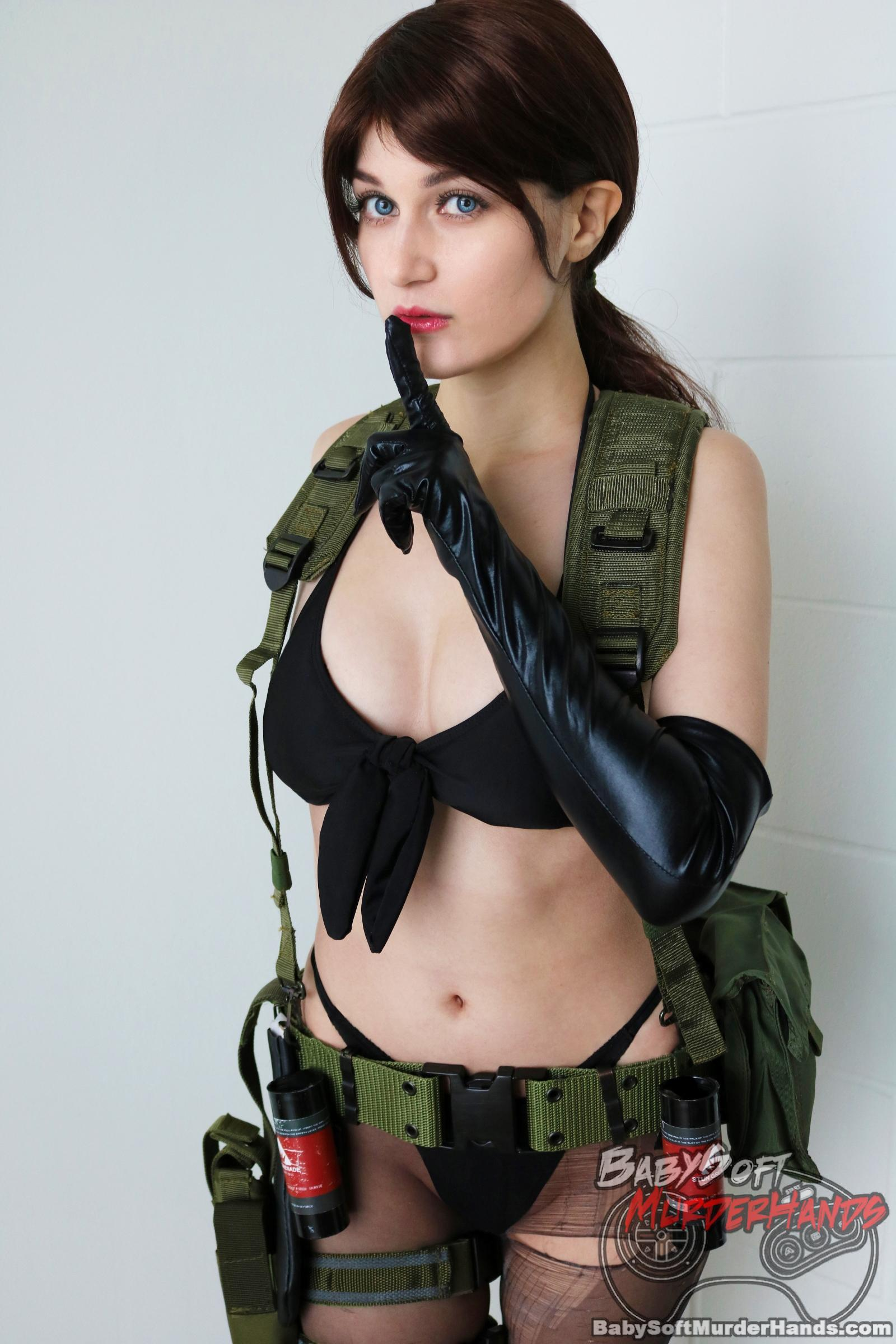 Quiet from METAL GEAR SOLID Cosplay by Meryl sama