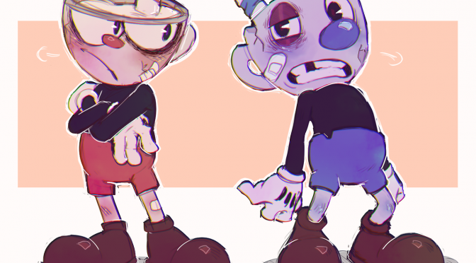GAMING FAN ART: Cuphead