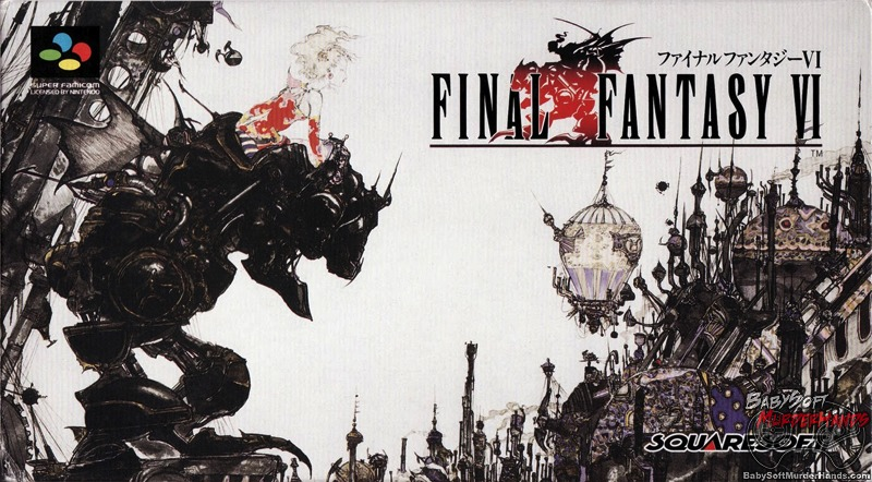 Image result for Final Fantasy VI box art