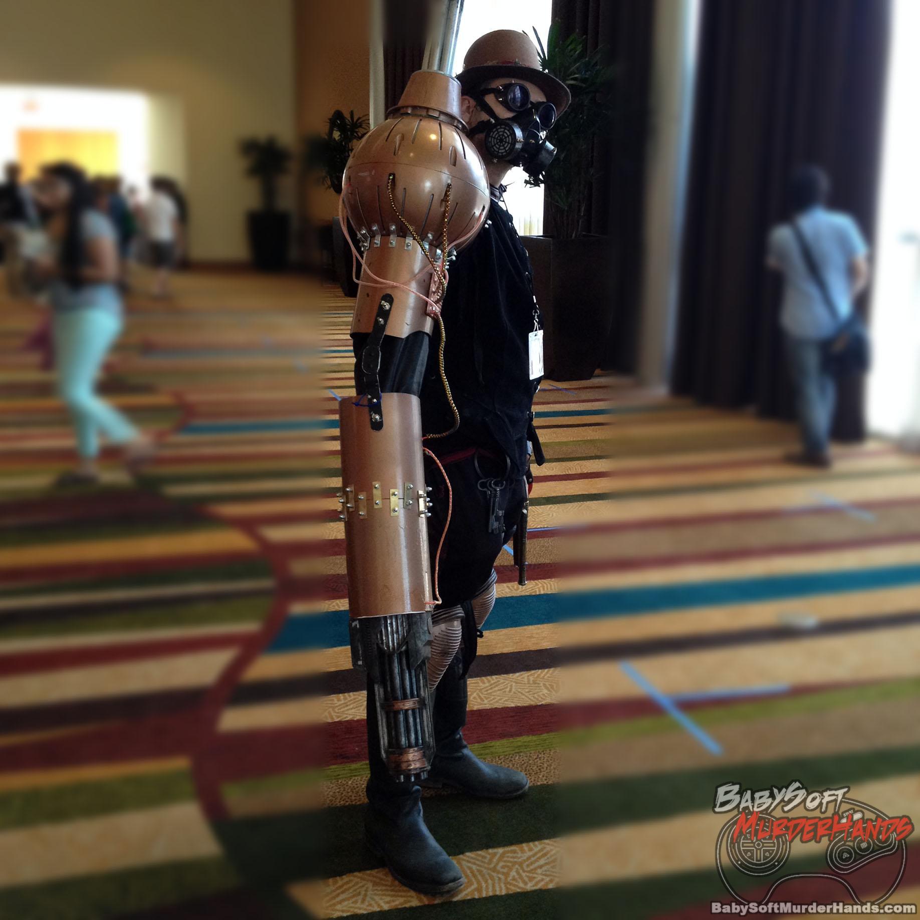 Cyberpunk Cosplay Robot Arm 1 Babysoftmurderhands Com