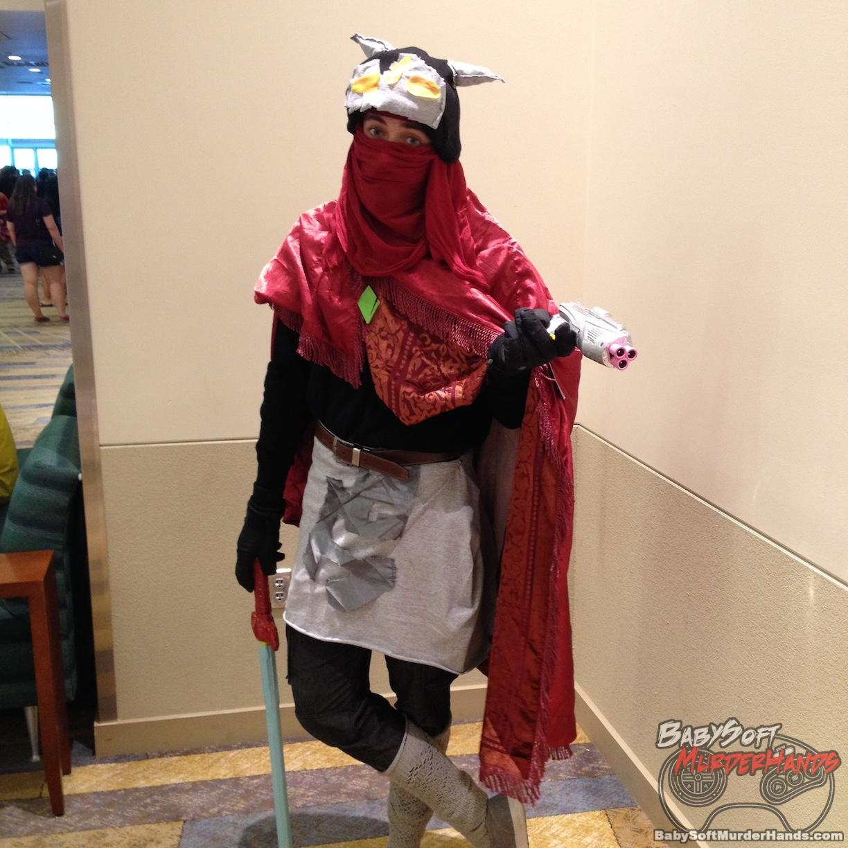 ... Hyper Light Drifter Gaming Cosplay Phoenix Comicon 2016 Pictures Gallery