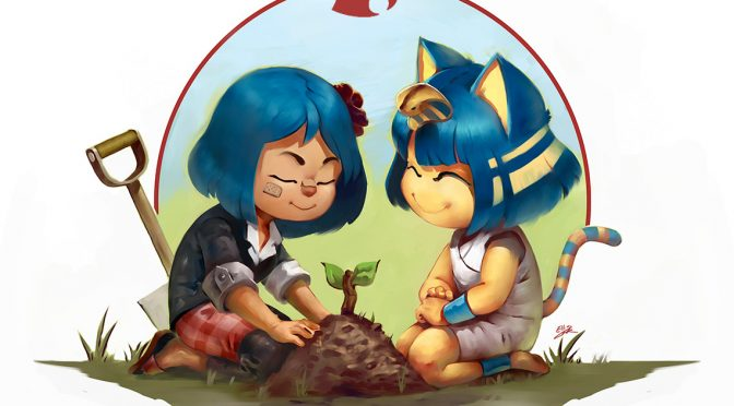 GAMING FAN ART: ANIMAL CROSSING